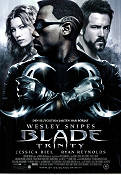 Blade: Trinity 2004 Movie poster Wesley Snipes