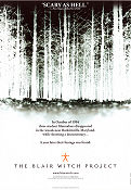 The Blair Witch Project 1999 poster Heather Donahue