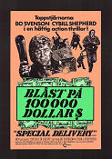 Special Delivery 1976 Movie poster Bo Svenson Paul Wendkos