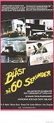 Gone in 60 Seconds 1977 Movie poster H B Halicki