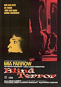 Blind terror 1971 poster Mia Farrow Richard Fleischer