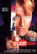 Blind Fury 1989 Movie poster Rutger Hauer