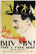 Be My Wife 1921 poster Alta Allen Max Linder