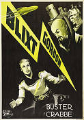 Flash Gordon 1936 poster Buster Crabbe
