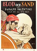 Blood and Sand 1922 Movie poster Rudolph Valentino