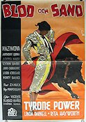 Blood and Sand 1941 poster Tyrone Power Rouben Mamoulian