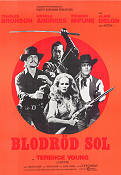 Red Sun 1972 Movie poster Charles Bronson Terence Young