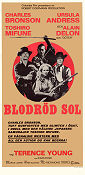 Red Sun Poster 30x70cm NM original