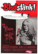 The Mad Room 1969 Movie poster Stella Stevens Bernard Girard