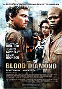 Blood Diamond 2006 Movie poster Leonardo di Caprio