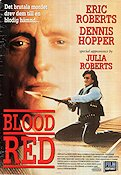 Blood Red 1991 poster Eric Roberts Peter Masterson