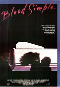 Blood Simple 1984 poster John Getz Joel Ethan Coen