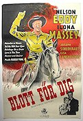Northwest Outpost 1948 Movie poster Nelson Eddy