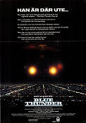 Blue Thunder 1983 Movie poster Roy Schaeder John Badham
