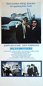 The Blues Brothers 1980 Movie poster John Belushi John Landis