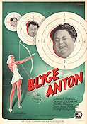 Blyge Anton 1940 poster Edvard Persson