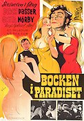 Det Tossede Paradis 1963 Movie poster Dirch Passer