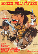 Bocken i vilda v�stern 1971 Movie poster Dirch Passer