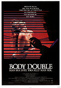 Body Double 1984 Movie poster Melanie Griffith Brian De Palma