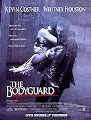 The Bodyguard 1992 Movie poster Kevin Costner