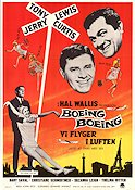 Boeing Boeing 1966 poster Tony Curtis