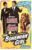 The Bohemian Girl 1936 Movie poster Helan och Halvan James W Horne