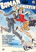 Boman f�r snurren 1949 Movie poster �ke S�derblom