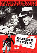 Bonnie and Clyde 1967 Movie poster Warren Beatty