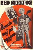 The Fuller Brush Man 1949 Movie poster Red Skelton