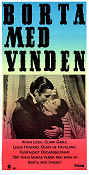 Gone with the Wind 1939 poster Vivien Leigh Victor Fleming