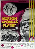 Beneath the Planet of the Apes 1970 poster James Franciscus