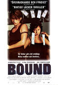 Bound 1996 poster Jennifer Tilly Andy Wachowski