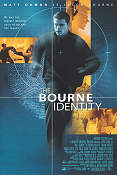 The Bourne Identity 2002 poster Matt Damon