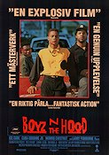 Boyz n the Hood 1991 Movie poster Ice Cube John Singleton