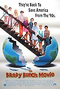 The Brady Bunch Movie 1995 poster Shelley Long