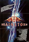 Brainstorm 1983 Movie poster Christopher Walken Douglas Trumbull