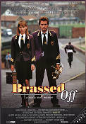 Brassed Off 1996 Movie poster Ewan McGregor