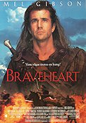Braveheart 1995 poster Sophie Marceau Mel Gibson