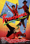 Breakdance the Movie 1984 poster Lucinda Dickey Joel Silberg