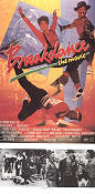 Breakdance the Movie 1984 Movie poster Lucinda Dickey