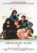 Breakfast Club 1984 Movie poster Emilio Estevez John Hughes