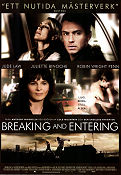 Breaking and Entering 2006 Movie poster Jude Law
