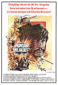 Breakout 1975 Movie poster Charles Bronson Tom Gries