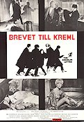 The Kremlin Letter 1970 Movie poster Bibi Andersson John Huston