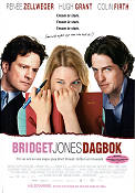 Bridget Jones's Diary 2001 Movie poster Renée Zellweger