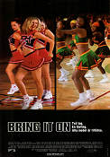 Bring It On 2000 poster Kirsten Dunst Peyton Reed