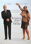 Bringing Down the House 2003 Movie poster Steve Martin
