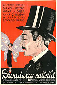 Broadway After Dark 1924 poster Adolphe Menjou Monta Bell