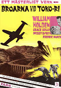 The Bridges at Toko-Ri 1955 poster William Holden