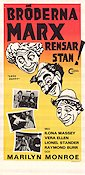Love Happy 1950 Movie poster Marx Brothers